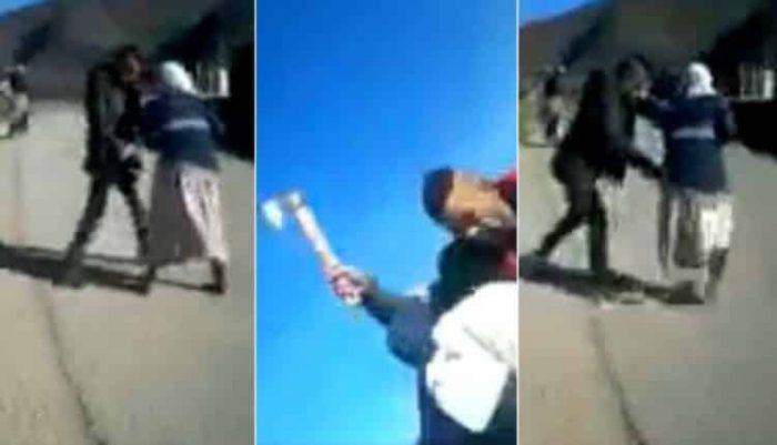 جريمة مروعة بالمغرب.. شاب هائج يحاول اغتصاب فتاة بالقوة و يعتدي بـ ساطور على أمها