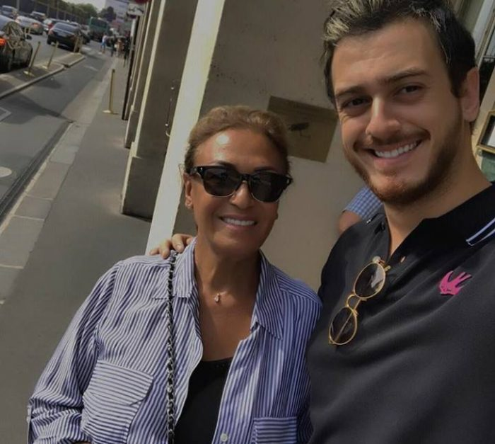 Saad Lamjarred and his mother