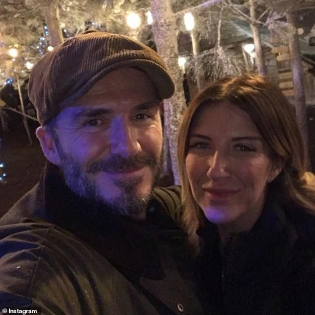 David Beckham's sister Joanne quizzed by cops over 'assault on ex' with a TV remote control
