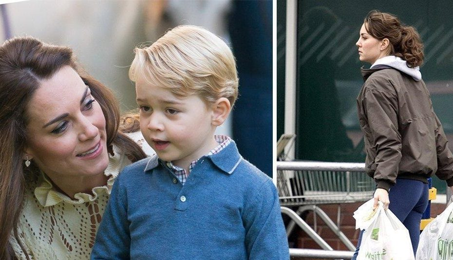 kate middleton - prince george