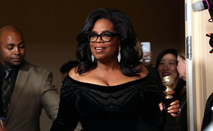 Oprah just complimented Nadine Labaki for 'Capernaum'
