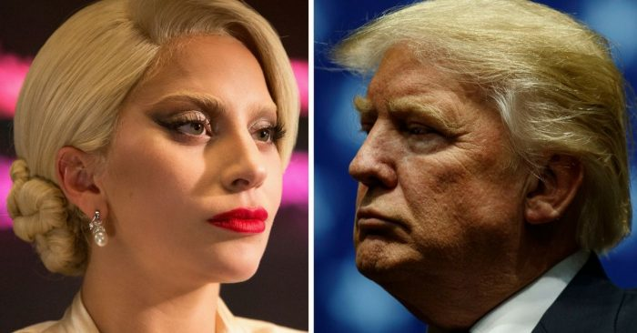 Lady Gaga blasts Trump and Pence live in Vegas