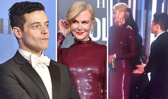 Rami Malek was ignored by Nicole Kidman?😱