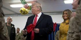Trump makes surprise visit to Iraq with Melania