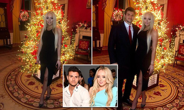 Tiffany Trump poses with her billionaire boyfriend in new Instagram