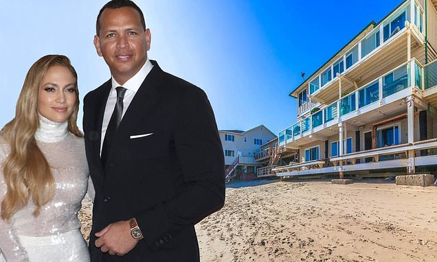 Jennifer Lopez and Alex Rodriguez buy Jeremy Piven's stunning Malibu beach house for bargain $6.6 million... after actor slashed price by nearly $4million during two-year listing