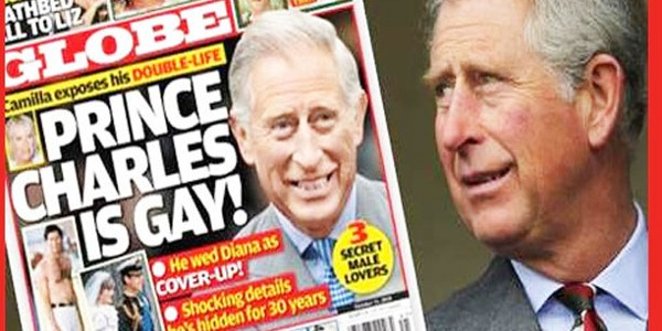 Prince Charles considered gay turn before marrying Diana
