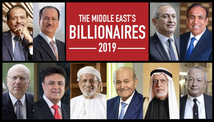 The Middle East's Billionaires 2019