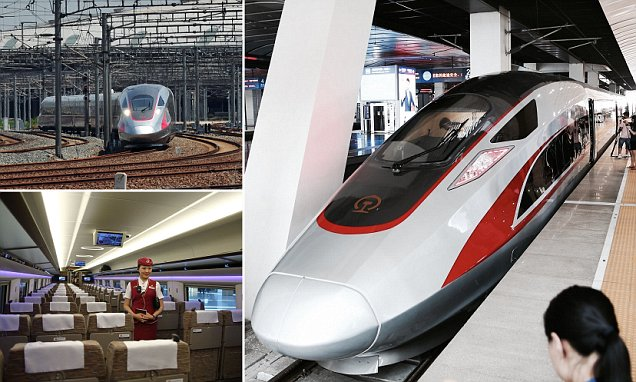 China unveils new generation of high-speed train