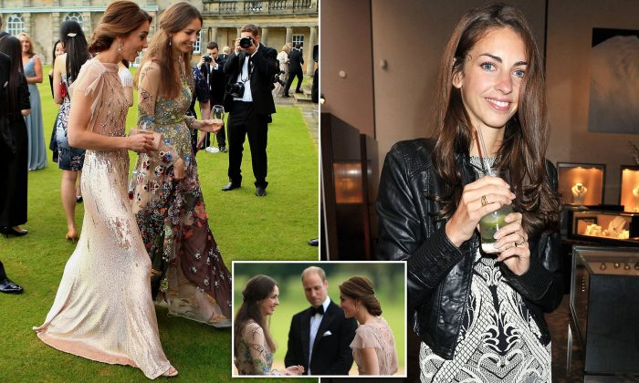 Kate's 'clash with best friend': Duchess of Cambridge has 'terrible falling out' with ex-model and tells Prince William to 'phase her out of their inner circle'
