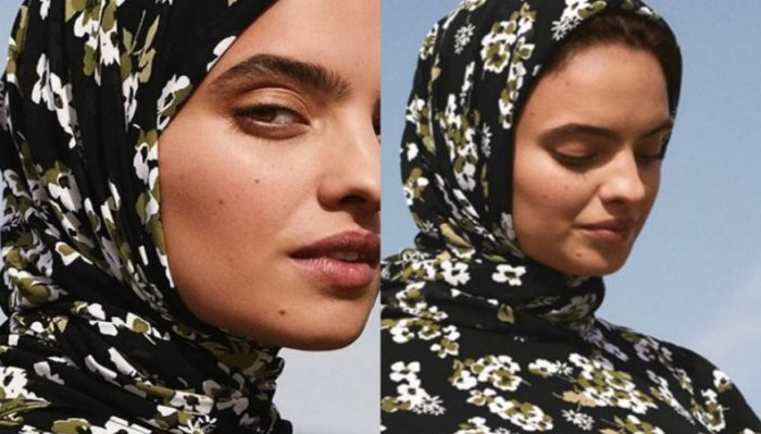 Michael Kors release their first ever hijab, part of the SS19 Middle East edit