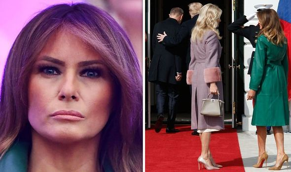 Trump Leaves First Ladies Hanging Outside White House During Czech Leader's Visit