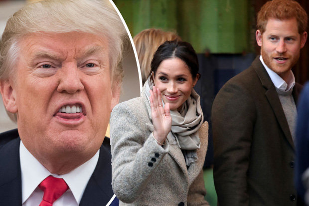 Donald-Trump-snubbed-by-Meghan-and-Harry