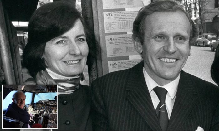 Queen's pilot and 'dementia-suffering' wife found dead in 'murder-suicide' at home