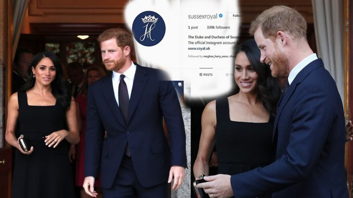 Meghan and Harry are on Instagram! Couple share an unseen image from Fiji (as well as eight of their favourite pictures) to celebrate launching their own Sussex Royal account after split from William and Kate