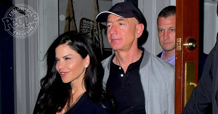 Jeff Bezos Steps Out with Girlfriend Lauren Sanchez for Date Night in