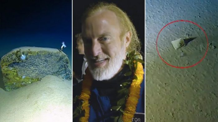 Plastic Pollution Reaches Deepest Place on Earth! American Explorer Finds Plastic Litter on His Record-Breaking Dive to Mariana Trench