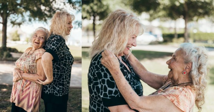 When a 90-Year-Old Grandma Meets Her 70-Year-Old Daughter