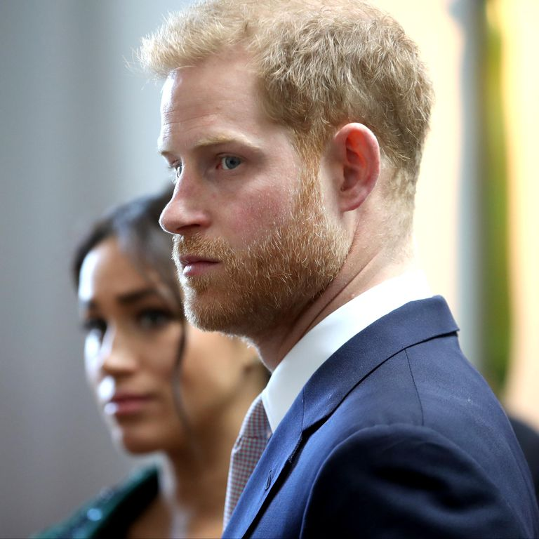 Prince Harry accepts 'substantial' damages after helicopter photos forced royal couple from their home