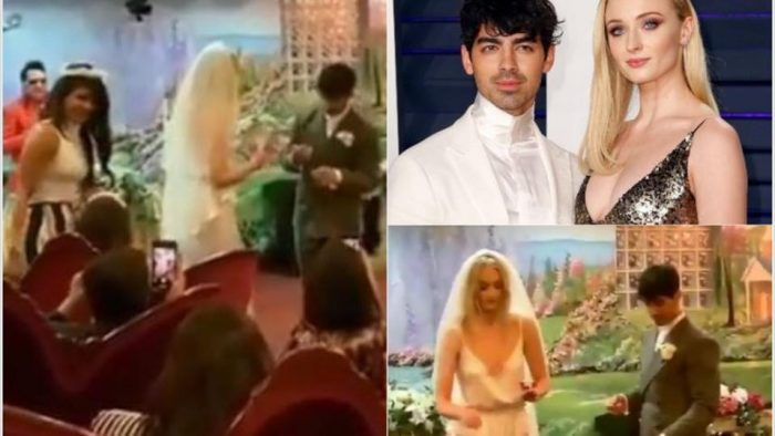 Sophie Turner and Joe Jonas 'marry' in surprise Las Vegas ceremony