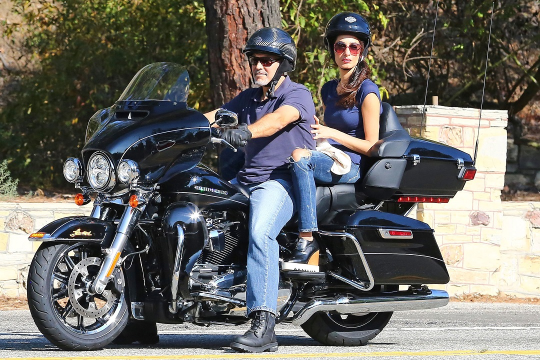 George Clooney's wife Amal FORBIDS him from getting on a motorcycle