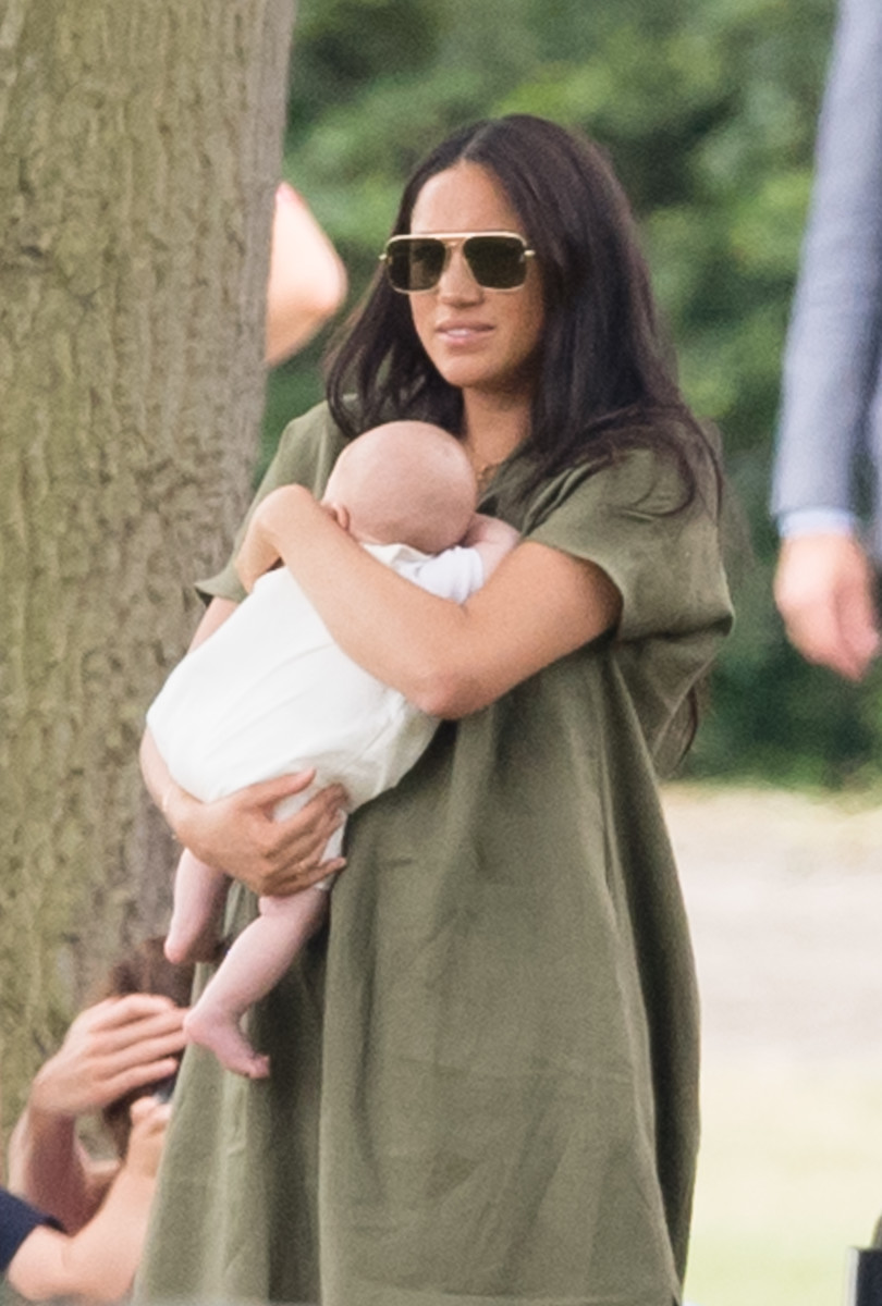 Baby Archie makes first public appearance with mum Meghan Markle