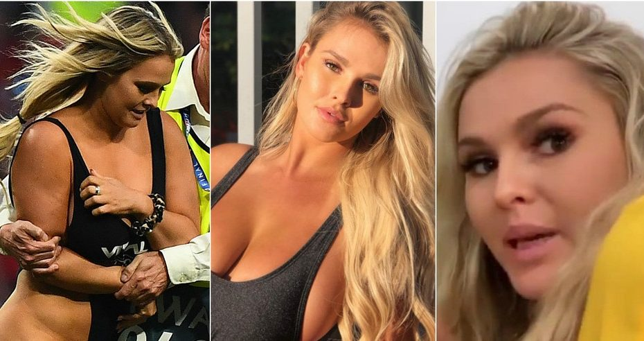 'We failed Copa America': Blonde bombshell pitch invader Wolanski reveals SECOND big-match stunt
