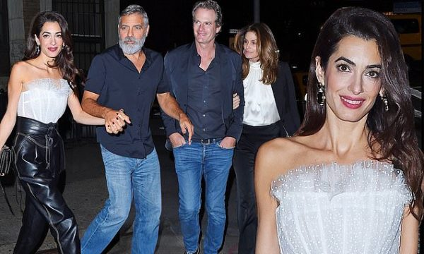 George & Amal Clooney Celebrate 5th Anniversary