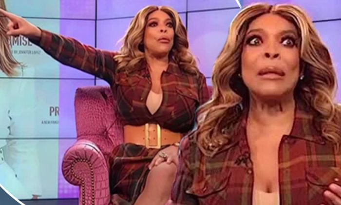 Wendy Williams snaps at audience member