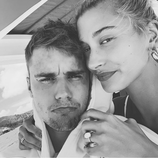 Hailey Baldwin is thankful for the 'love of her life' Justin Bieber