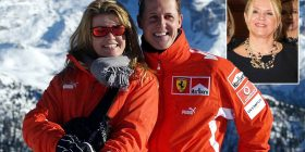 Michael Schumacher's wife Corinna insists he is in the 'best of hands' and asked for state of his health to be 'secret' after former manager accused her of hiding the truth about his condition