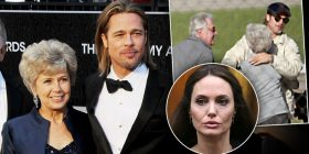 Brad Pitt's Mom Ready To Confront Angelina Jolie Over Trash Talk