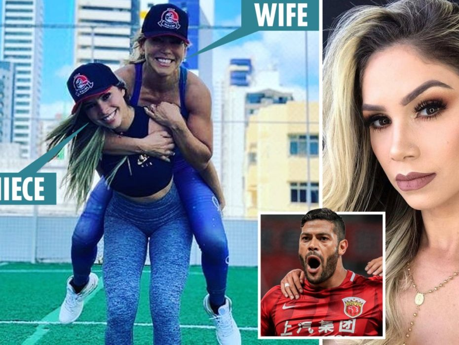 Brazil star Hulk 'has been dating niece of his ex-wife since October' after 12-year relationship came to an end