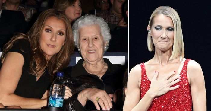 Celine Dion pauses concert for emotional tribute to her mother on night after her death