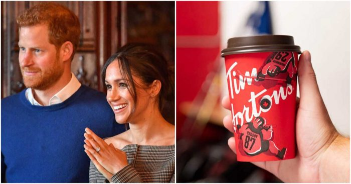 Tim Hortons' Offer Of Free Coffee For Harry & Meghan Has People Angry