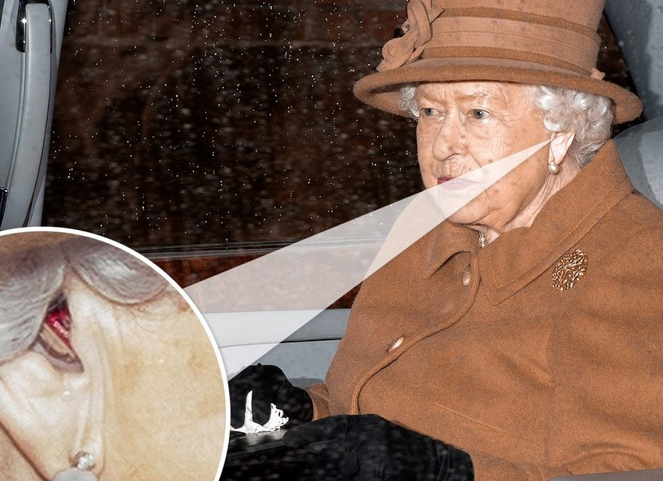 Royals pray before showdown: The Queen, 93, wears a hearing aid for the first time ahead of crisis talks over Harry and Meghan's 'abdication' - as Peter Philips says his grandmother is 'alright' after Wills revealed his sadness at split