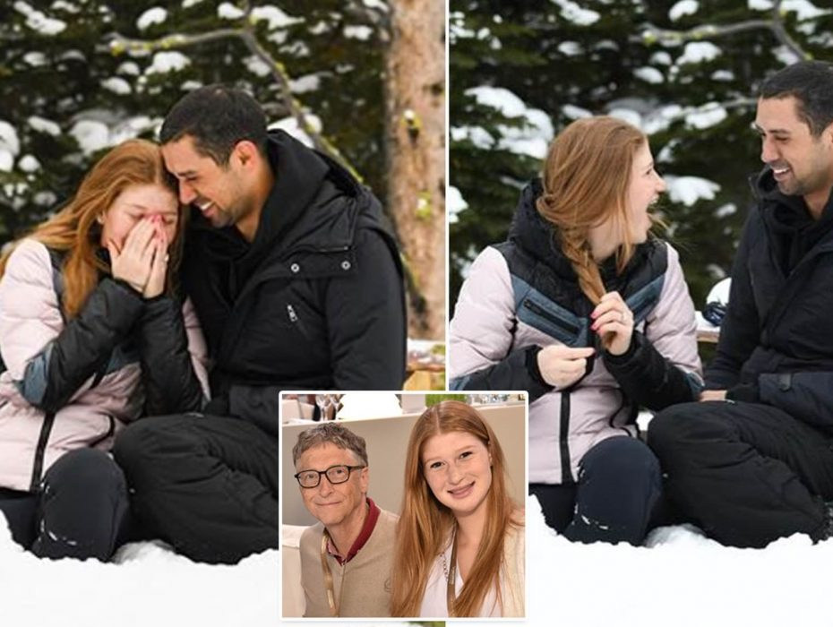 Bill Gates' Daughter Jennifer, Tells Her Egyptian Boyfriend As She Shares Engagement Photos