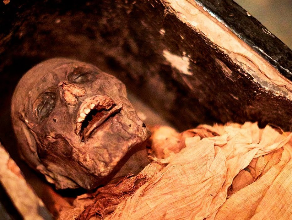 Sound of a 3000-year-old Egyptian mummy's voice
