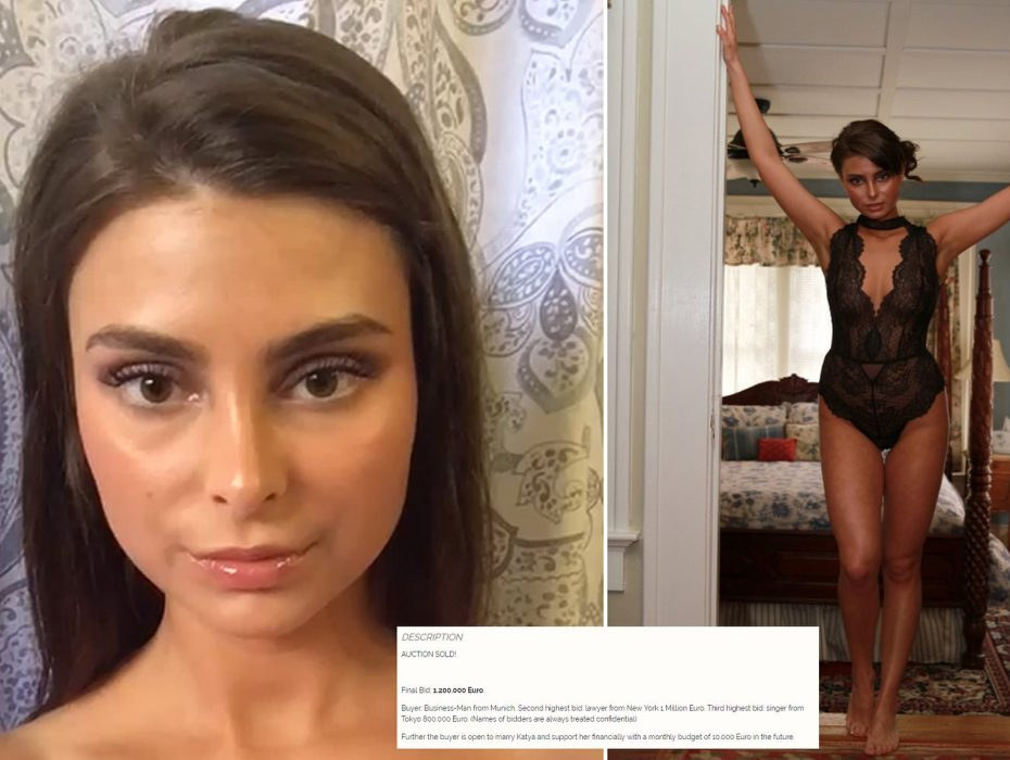 Woman, 19, claims she's sold her virginity for £1 MILLION to a Munich businessman via a notorious online escort agency - and says he's 'prepared to marry her'