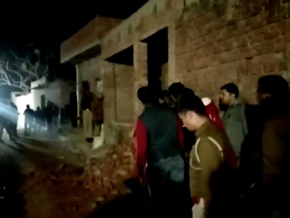 runkard holds over 15 children hostage in UP, shoots at villager, rescue ops underway